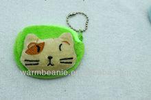 Animal head small plush Zero wallet /Coin Purse