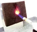 Peso ligero no inflamable de reciclaje de polímeros de fibra de carbono