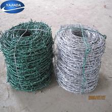le placage de zinc fil de fer barbelé pour la vente chaude