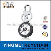 Y03895 Promotion custom new design alloy wheel keyring