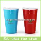 Newest! Double Wall Plastic Mason Drinking Jars, Beer jars mug