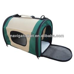 New Design Fabric Folding Dog Carrier