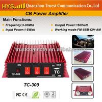 150W FM 300W SSB Hf two way radio amplifier TC-300