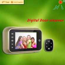 Peephole door viewer,digital door viewer with video record take photo function