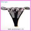 new design embridery sexy g-string panty girls underwear