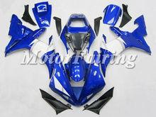 yzf r1 body kit for yamaha r1 2003 2002 yzf r1 fairing 02 03 r1 racing fairing blue white