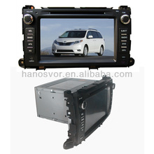 Car DVD Player for Toyota Sienna 2011 2012 2013 with gps navigation PIP USB SD BT