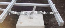 ground solar aluminum mount/bracket or rail profile in mill finish