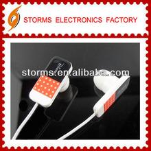 Lovely gift promotional in-ear headphone and earpod