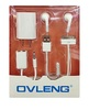 OVLENG OV-F6MV Stereo Mobile Phone Wired Headset Pack 3.5mm