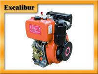 7hp air cooled single cylinder diesel engine 178f