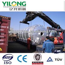 Horizontal Rotation Waste Tyre/Rubber Pyrolysis Machinery