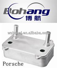 aluminum oil cooler used for Porsche