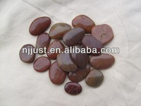 High quality red river stone pebble landscape stone supplier