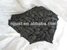 Black garden decorative pebble stone