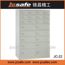 safe deposite box,22doors,small door with inner box