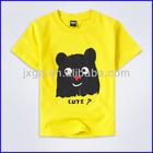 Wholesale kids/children cheap combed cotton t shirts printing machine
