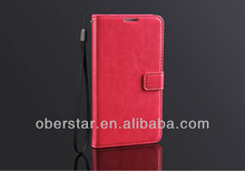Fashion Wallet PU Leather Cell Phone Holster Case For Samsung Galaxy Note3 N9000
