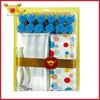 Satin and PE Material Bathroom Elegant Drapes Curtains