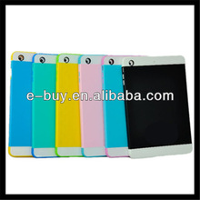 hot design bright color pc silicone case cover for ipad 2 3 4