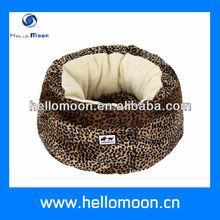 leopard pet bed