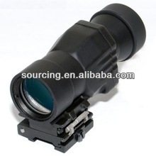 china airsoft masturbation devices Tactical 4X Magnipe Sight Riflescope w/ Flip-To-Side QD Mount for 20mm laser pointer