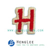 Letter College Embroidered Patch(Perfect for Garments, Toys, Handbags and Footwears. Various Designs are Available)
