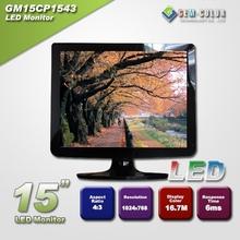 "15"" 1024*768 4:3 Desktop Computer LCD Monitor"