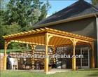 2014 polyurethane faux wood composite pergola