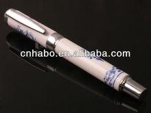 chinese style fountain pen souvenir pen blue and white porcelain pen wholesale