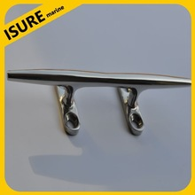 stainless steel marine boat hollow base cleat/ISURE MARINE