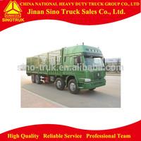 SINO 8x4 336hp 45m3 howo cargo truck