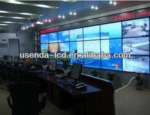"46"" security surveillance Seamless LCD advertising display monitor wall with HDMI VGA DVI MATRIX"