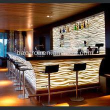 Nightclub counter Illuminated led bar counter led bar furniture