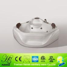 Mini corner sexy bath tub /bathtub seats for adults HS-B1551T