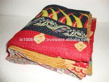 ikat Handmade Kantha Quilt ALIKQ0320