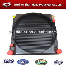 customized plate and bar aluminum fan water radiator