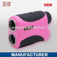 6*24 400m Laser rangefinder with pinseeking and slope measure function folding travel golf bag