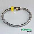 304 fiodeaçoinoxidável malha mangueira de canalização para o toalete/torneira
