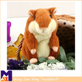 belle gros jouets en peluche hamster animaux en peluche jouet hamster parler avec son