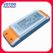 12W 12V AC-DC Constant Voltage LED Driver with orange color