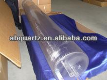 High transparent capillary heat resistant quartz glass tube