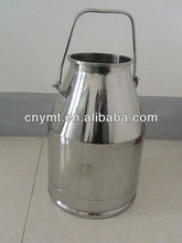 Stainless steel 30L milk bucket for sale transport storage barrel for cow and goats