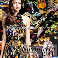Digital print Silk Fabric Manufactuer & Supplier China