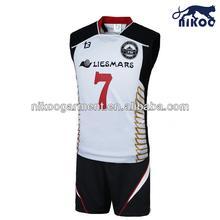 NIKOO basketball sets 2014 custom sublimated women's basketball uniform wholesale