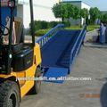 móvel as rampas de carga para caminhões