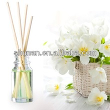 Hot sale 10ml reed diffuser, cheap air freshener,aroma diffuser with rattan sticks from manufactory