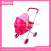 2014 China stroller factory wholesales haba doll pram natural metal doll stroller NO.808-11