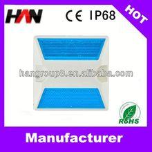 3M PC IP68 6 leds solar pavement marker light (five colors for choose)