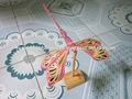 لعبة تقليدية، لعبة شعبية، الخيزران اليعسوب، ذبابة التنين اليدوية، طفل هدية